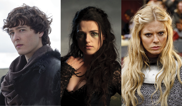 Trio three, Merlin characters: Mordred/Morgana/Morgause